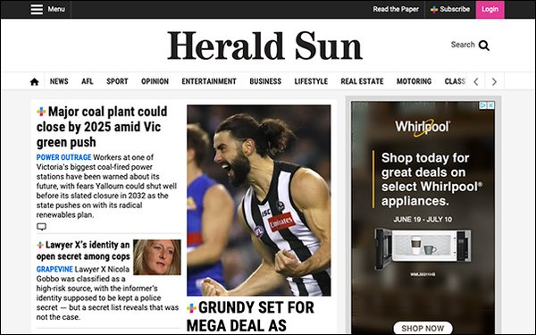 News Corp's 'Herald Sun' Offers Reporters Cash For Clicks 06