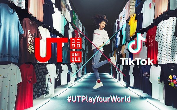 Youthful Uniqlo Makes A Natural Tie-in With TikTok 06/25/2019