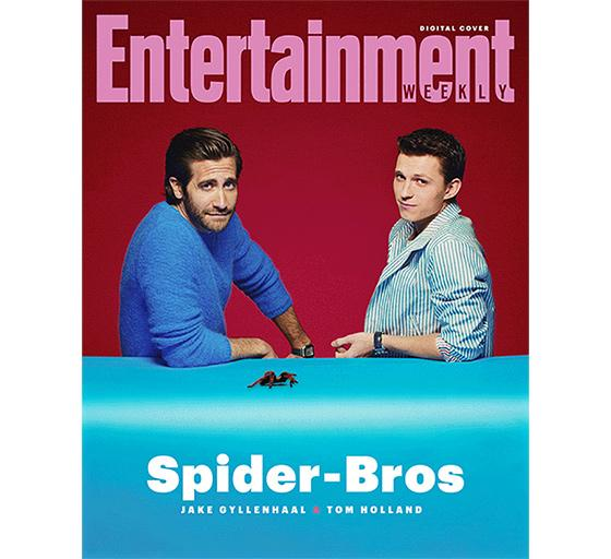 'Entertainment Weekly' Launches First Digital Cover, Features 'Spider-Man' Stars