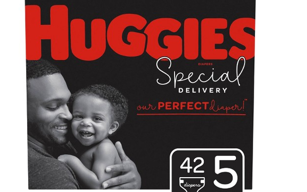 Huggies Launches Partially Plant-Based Diaper With Black Packaging