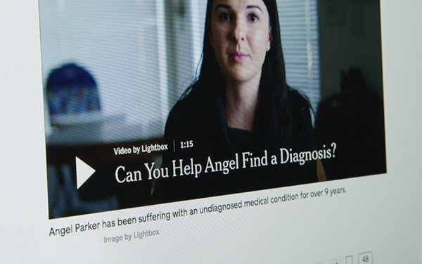 NYT' To Debut 'Diagnosis' Doc Series On Netflix 07/23/2019