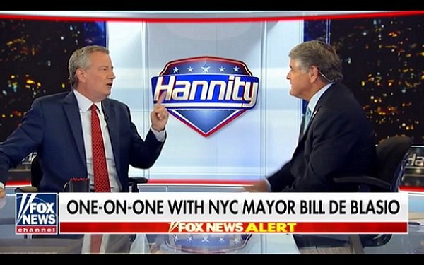 When Sean Met Bill: 'Hannity' Scores With NYC Mayor