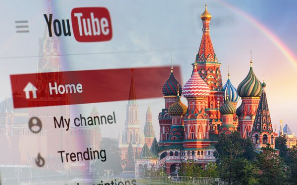 Russia's Watchdog Orders Google To Stop Broadcasting 'Illegal Events