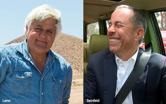 Comedians In Cars: Jerry Seinfeld Vs. Jay Leno