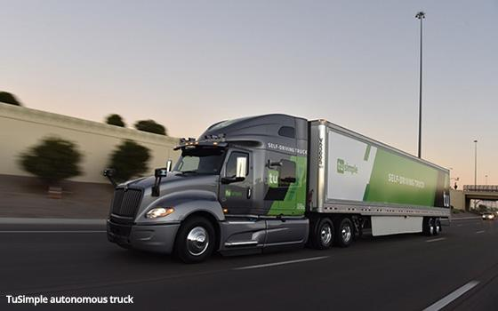 UPS Testing Self-Driving Tractor Trailers