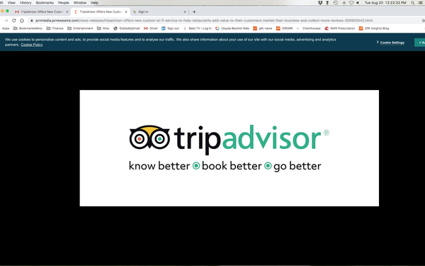TripAdvisor WiFi Add-On Drives Restaurant Email Marketing