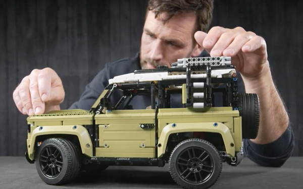 Land Rover Partners With Musto Clothing, LEGO
