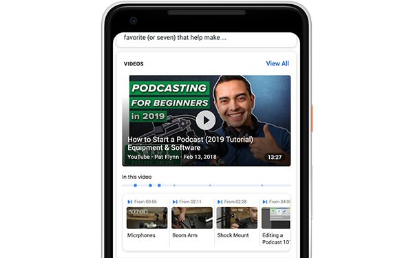 Google Search Now Links To Specific Moments, Content In Videos
