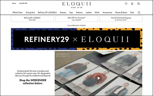 'Refinery29,' Eloquii Create Crowd-Sourced, Plus-Size Collection