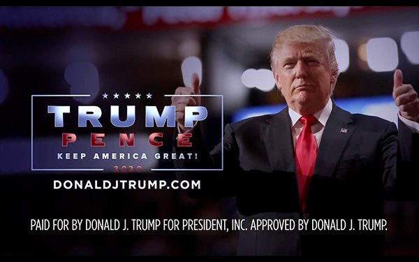 National Tv Political Advertising Up Sharply Trump Campaign Spending Dominates 07 13 2020