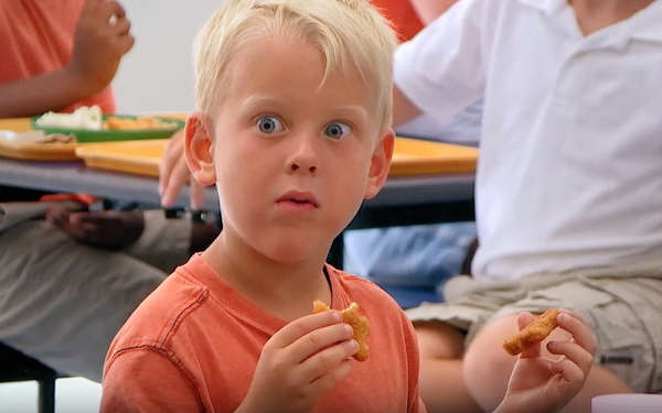 Kids Squawk At Hidden Vegetables In New Perdue Chicken Campaign