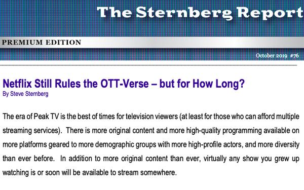 Netflix Still Rules The OTT-Verse, But How Much Longer?