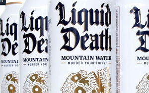 Liquid Death Uses Witchcraft To Kill Thirst -- And Plastic Bottles