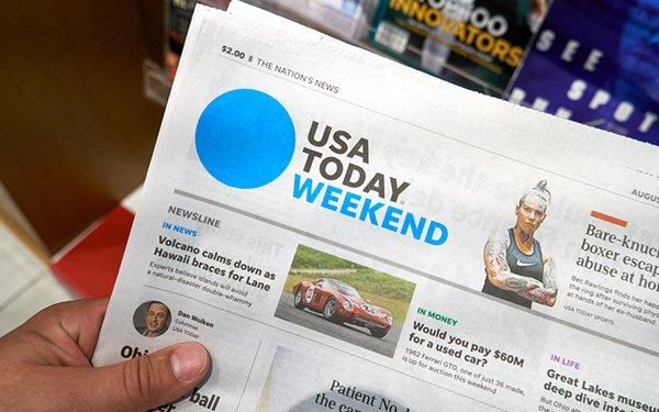 Gannett Refutes 'Poynter' Report About Ending 'USA Today' Print Edition