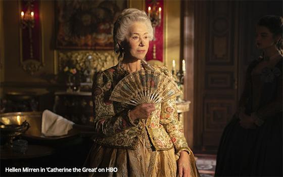 Helen Mirren Makes Catherine Great Again