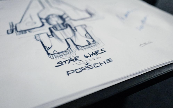 Porsche, Lucasfilm To Jointly Design Starship