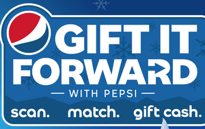 Pepsi QR Code Promotion Encourages Gifting Cash Winnings
