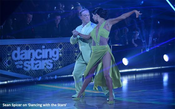 Massive Phone Support Can't Save Spicer As He Departs 'DWTS'