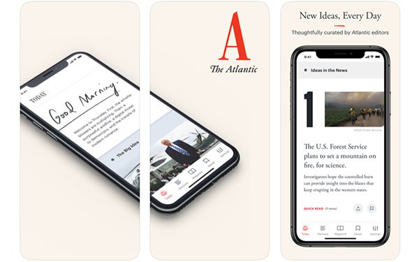 'The Atlantic' Redesigns Print Magazine, Launches New App