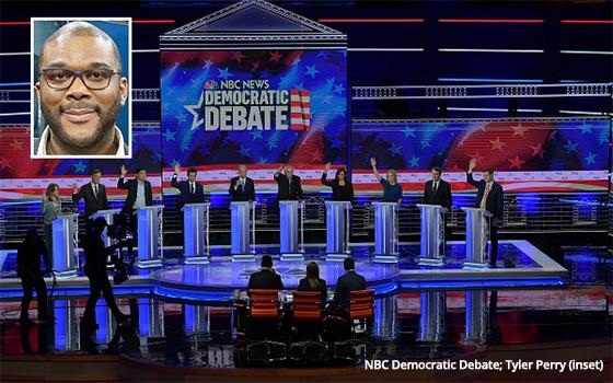 All-New Tonight! 'Tyler Perry's The Democratic Debate'