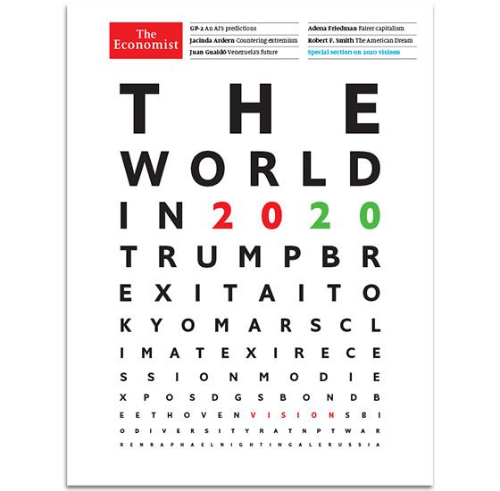 'The Economist' Releases 'The World In 2020' Issue