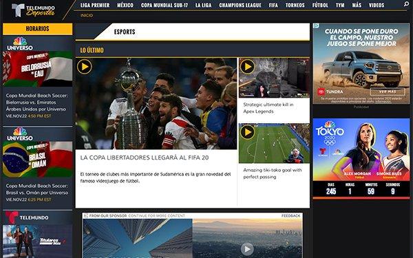 Telemundo Deportes Teams With ESR Esports For English-Language Content