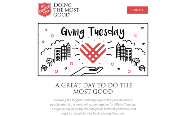 New Email Strategy Spikes Salvation Army Donations