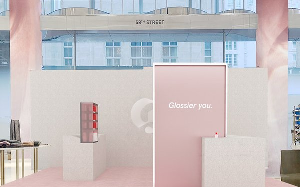 With Nordstrom Pop-Up, Glossier Tackles Digital's Biggest Drawback