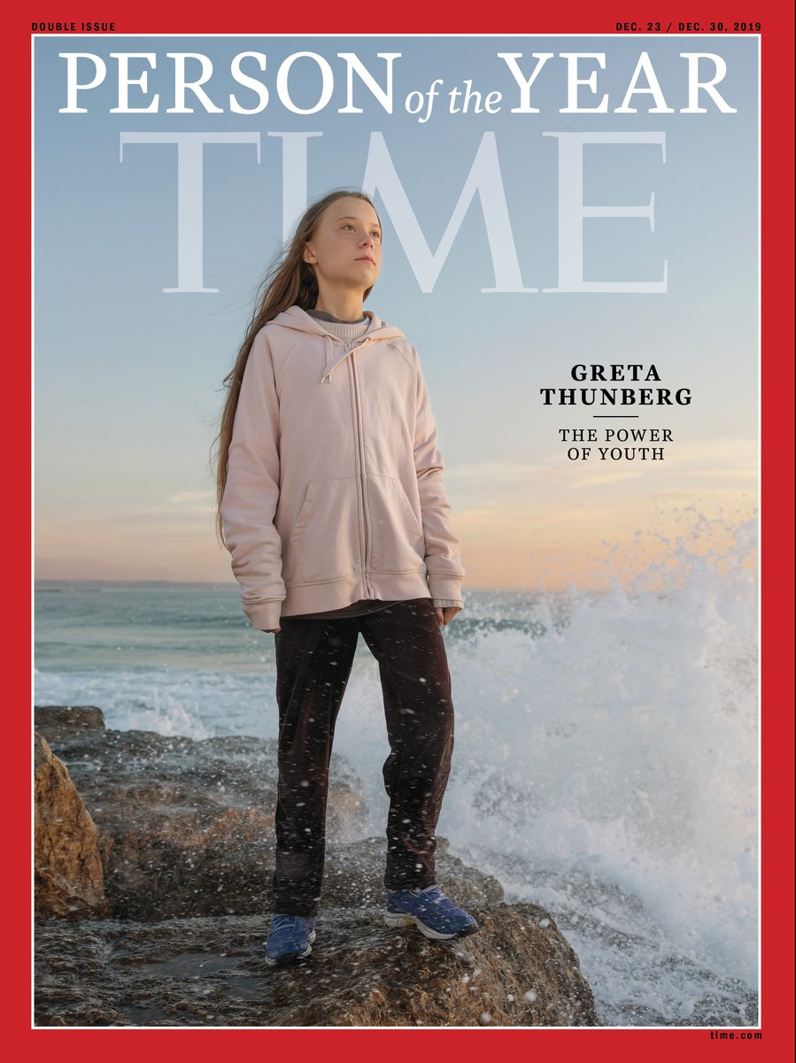 `Time` Names Teen Climate Activist Greta Thunberg `Person...
