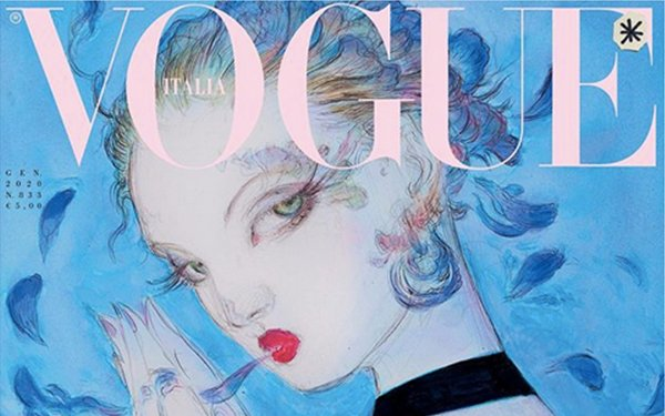 'Vogue Italia' Returns To Illustrated Covers, Aims For Greener Magazine