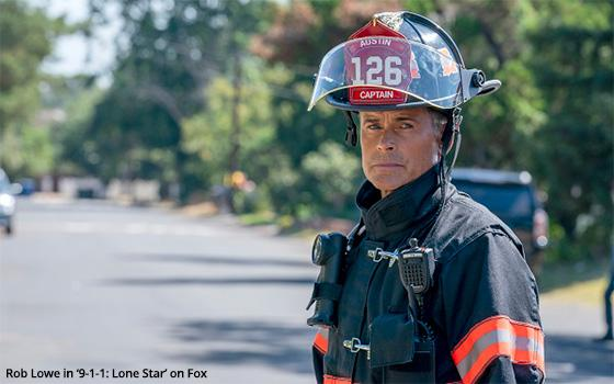 Where In The World Is Rob Lowe? In Texas Playing A Firefighter
