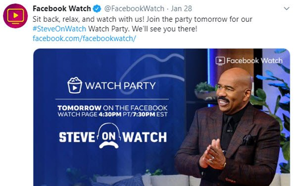 Facebook Watch To Deemphasize Original Programming: Report