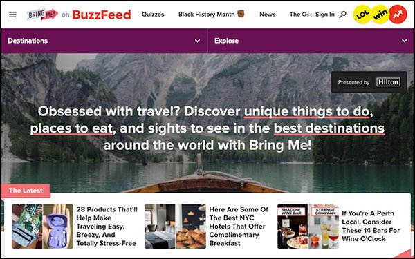 'BuzzFeed' Partners With Hilton To Expand Affiliate Business