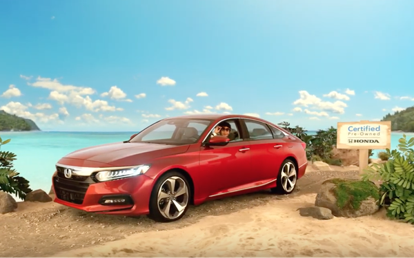 American Honda Debuts Campaign For Certified Pre-Owned Vehicles