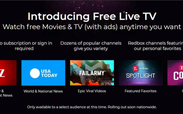 Redbox Launching Free, Ad-Supported Streamer