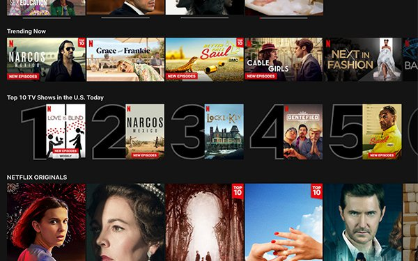 Netflix Adds Daily Top 10 Movie, Show Rankings By Country 02/25/2020