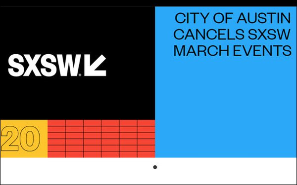 The Show Will Not Go On: Austin Cancels SXSW Because Of Coronavirus