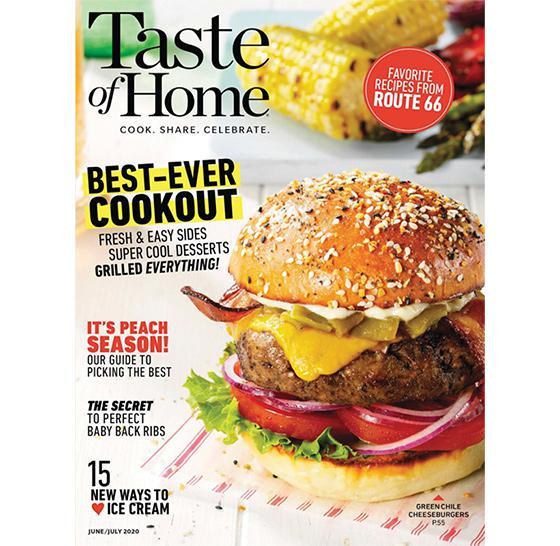 'Taste of Home,' 'Family Handyman' Report Biggest Digital Numbers Ever in April