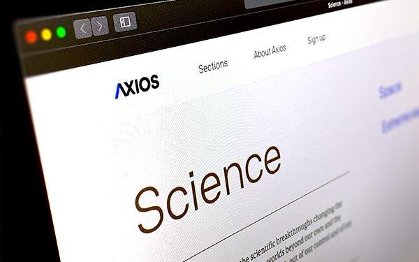'Axios' Creates 3 Newsletters