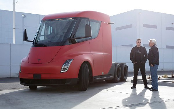 Fascinating Elon Musk Goes Truckin' With Leno