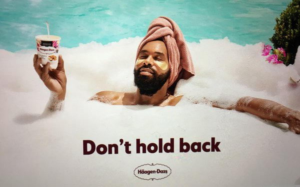 Haagen-Dazs Says 'Don't Hold Back' In New Campaign