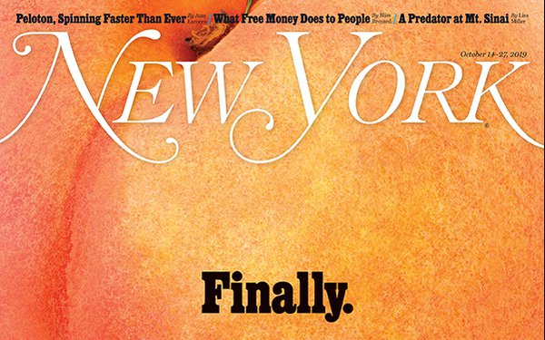 'New York' Magazine's Impeachment Issue Wins ASME's Cover Of Year Award