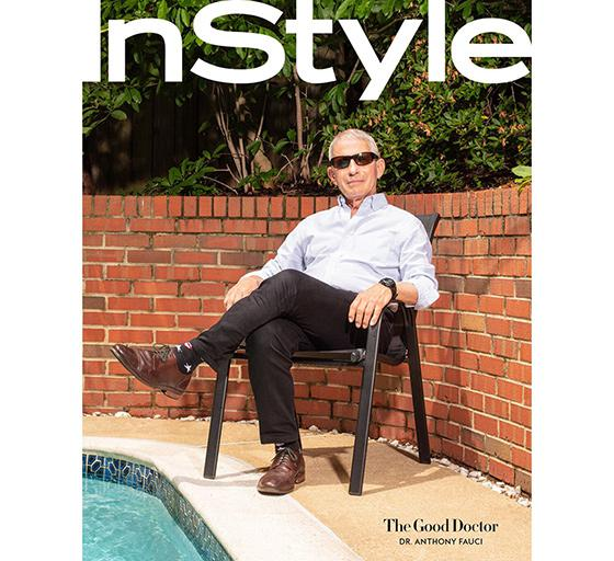 InStyle' Digital Cover Profiles Dr. Anthony Fauci 07/20/2020