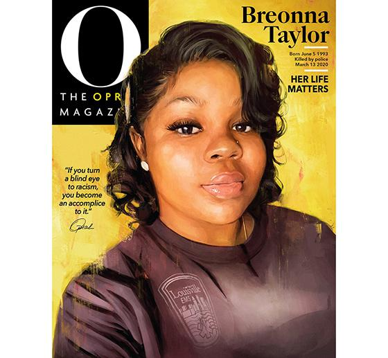 Breonna Taylor Honored On Cover Of O The Oprah Magazine 07 31 2020