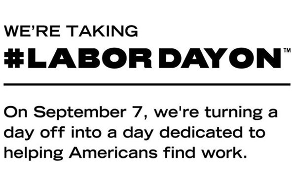 For #LaborDayOn, Red Wing Reaches Out To The Unemployed