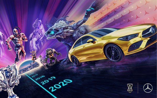 Mercedes-Benz Partners With Riot Games