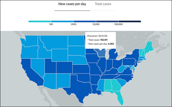 Google Search Terms Can Help Forecast COVID-19 Hot Spots In U.S.: Mayo Clinic Report