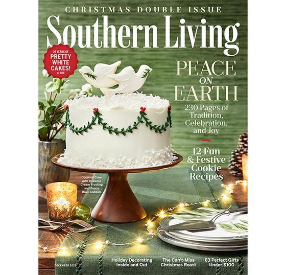 Southern Living 2021 Southern Living® Christmas Cookbook Southern Living Records Strong Audience Growth Cross Platform 12 04 2020