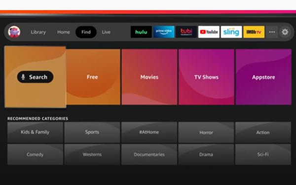 Amazon Fire TV Devices Receiving Redesigned Home Screen