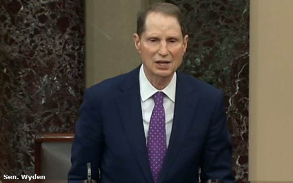 Wyden Bill Would Ban Exporting Americans' Personal Data To Some Countries